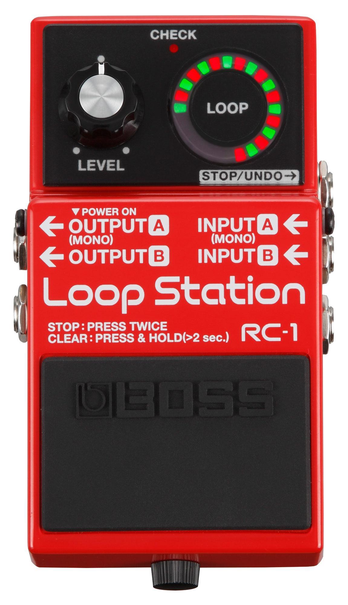 boss loop station rc 2 manual