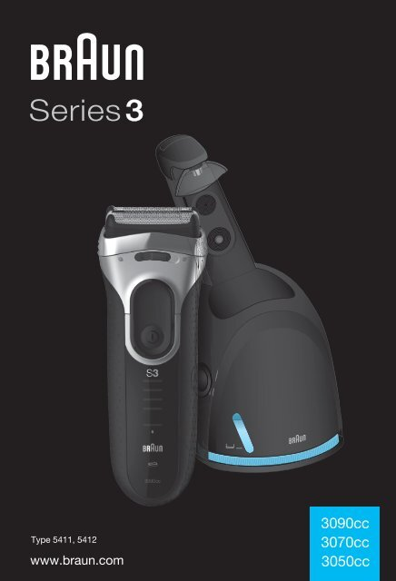 braun series 3 390cc 4 manual