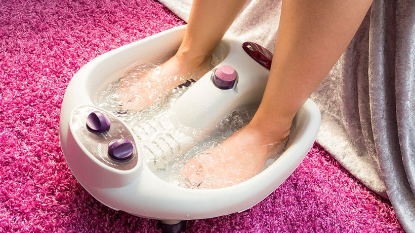 brookstone aqua jet foot spa manual