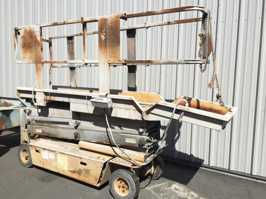 grove scissor lift service manual