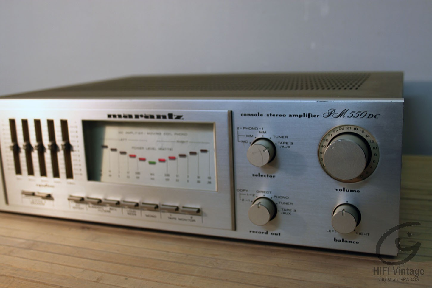 marantz pm 550 dc manual