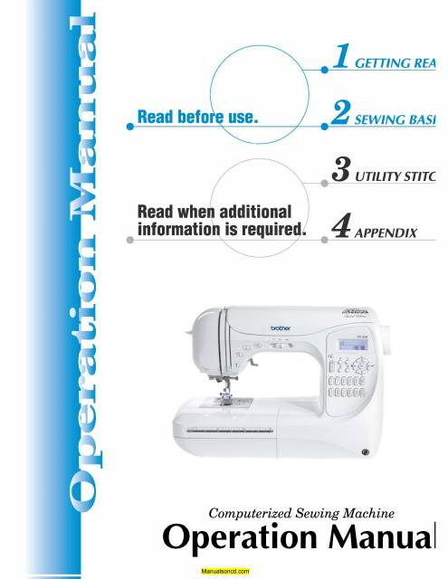 husky 145 sewing machine manual