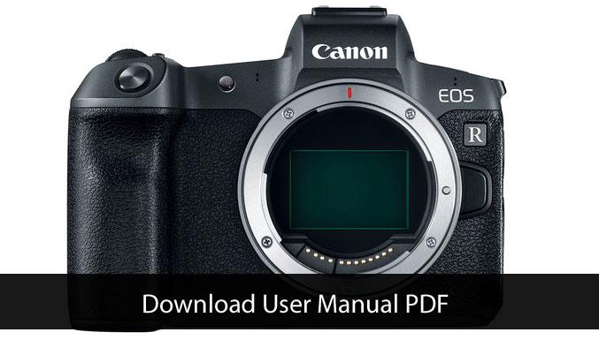 canon camera manuals free download