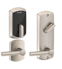 yale touchscreen lever lock manual