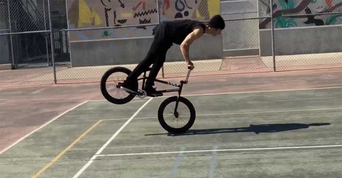 how to manual on a bmx bike