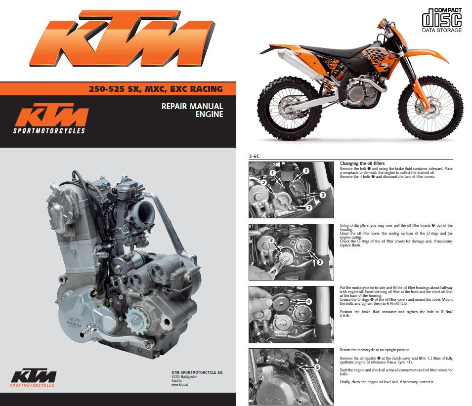 2002 ktm 520 exc service manual