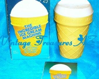 donvier ice cream maker instruction manual