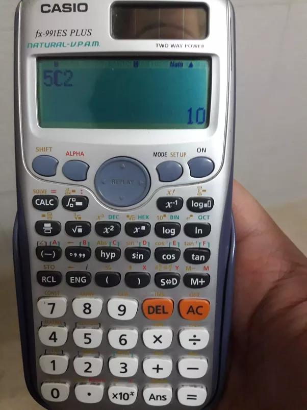 casio fx 991es plus scientific calculator manual