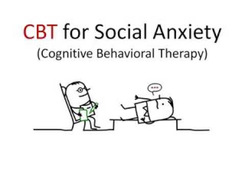 cbt for social anxiety manual