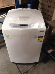 lg fuzzy logic 6.5 kg washing machine user manual