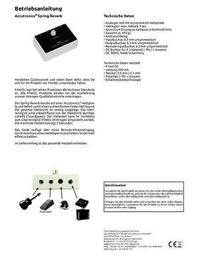 tc electronic hall of fame manual