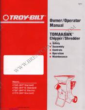 troy bilt tb80ec owners manual