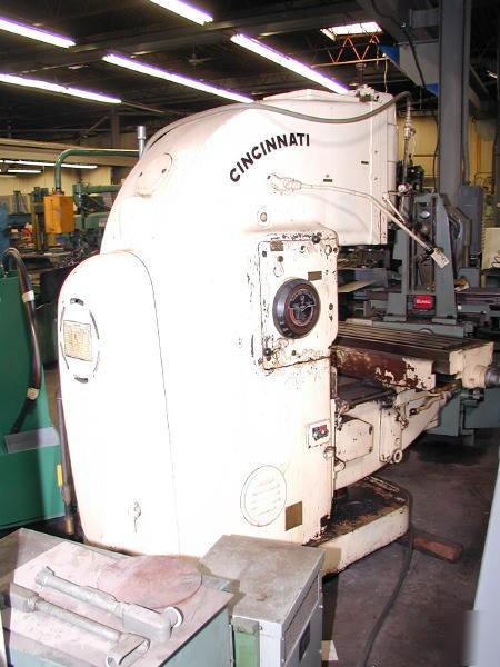 cincinnati no 3 milling machine manual