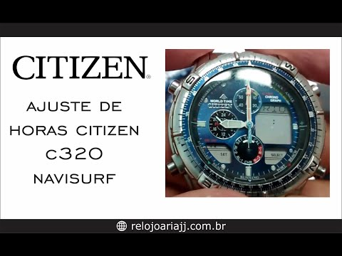 citizen aqualand promaster instruction manual