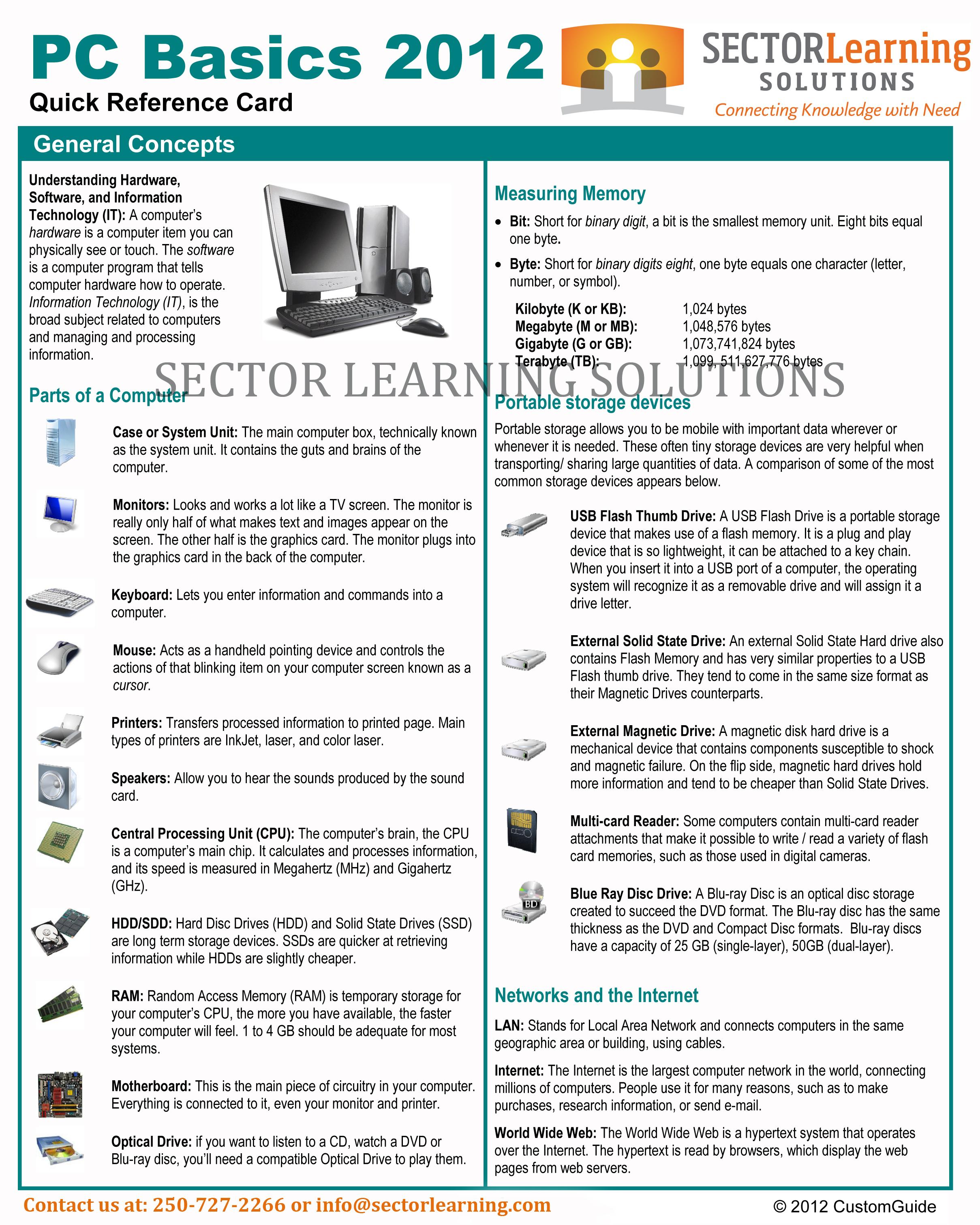 computer literacy training manual pdf