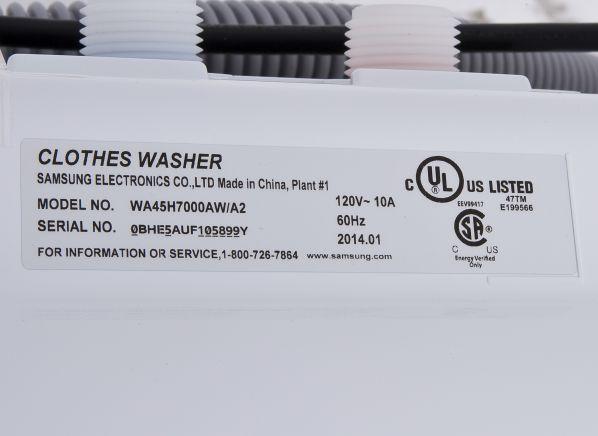 samsung washing machine user manual