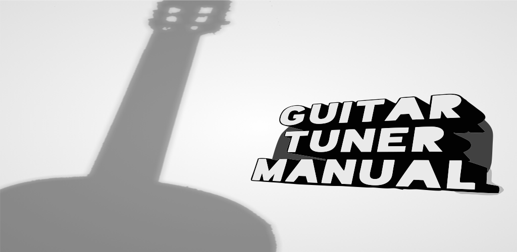 how to tune a guitar manually