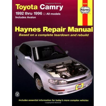 1996 toyota camry repair manual free