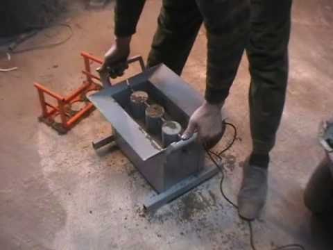 how to make concrete blocks manually