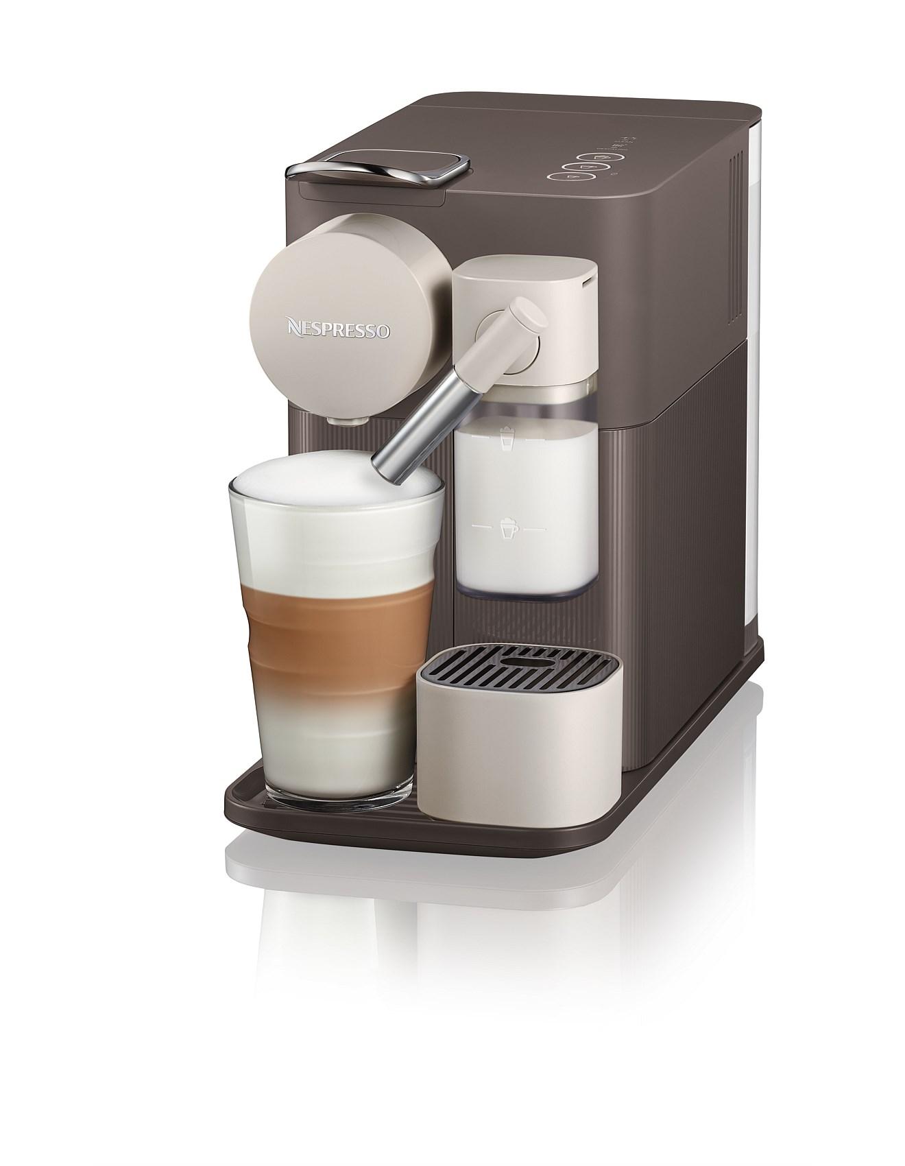 delonghi lattissima nespresso machine manual