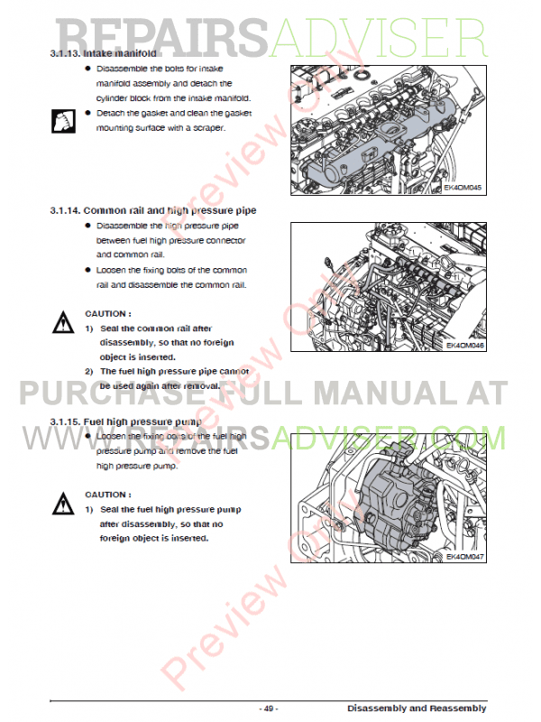 diesel generator operation and maintenance manual in pdf