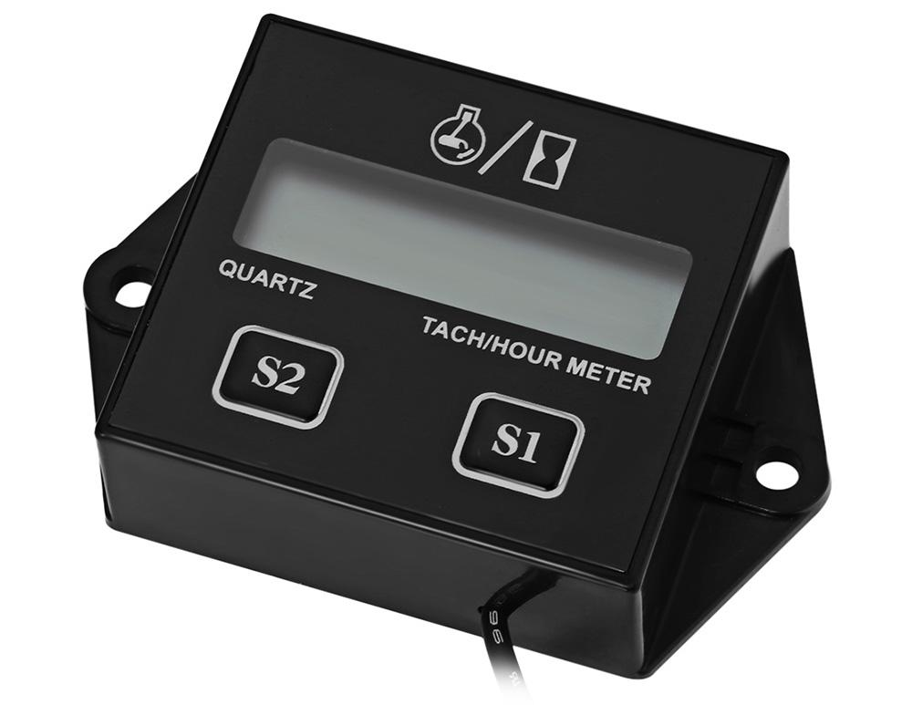 digital tach hour meter manual
