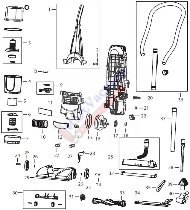 dyson dc15 parts diagram manual