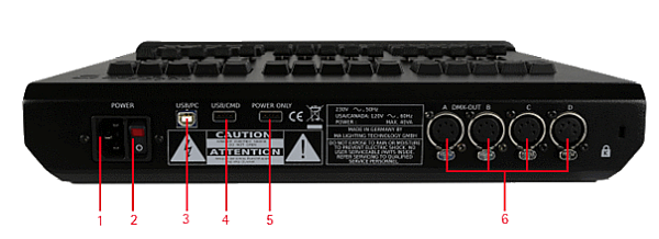 grandma lighting console manual pdf