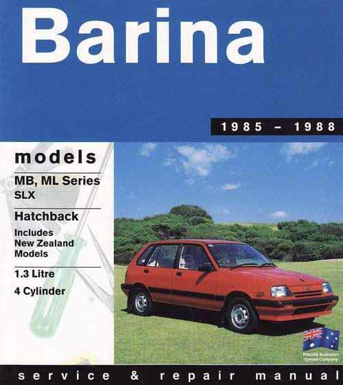 holden barina 2001 owners manual