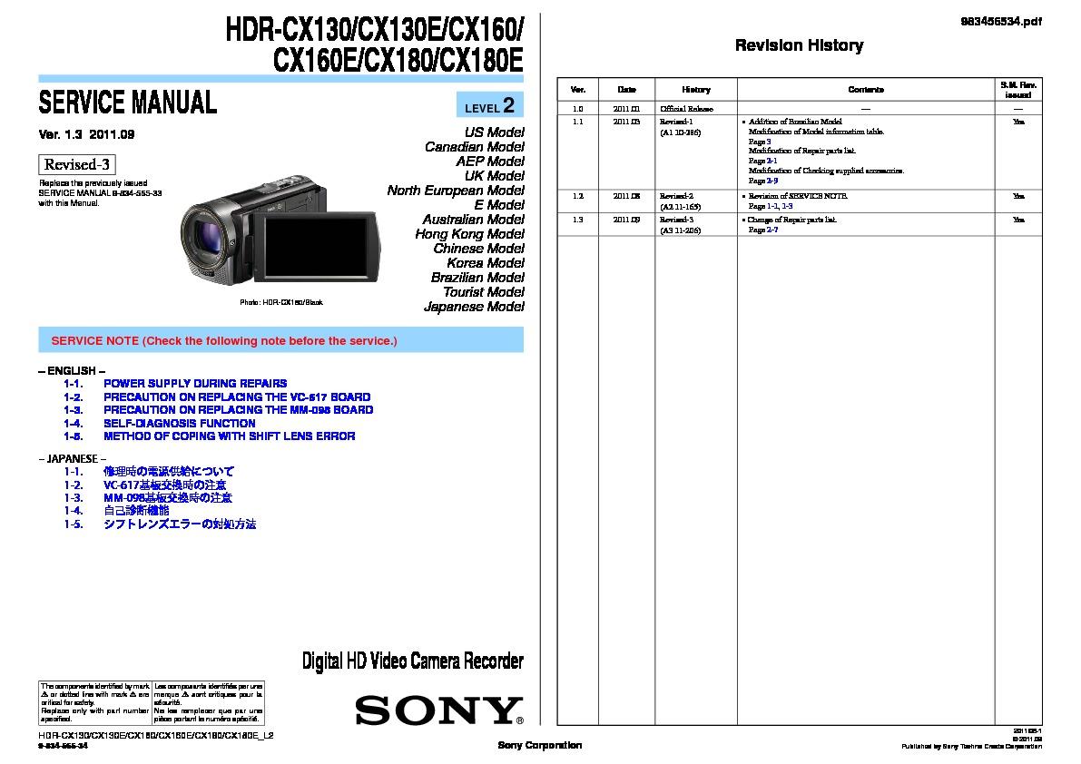 sony hdr as100v manual pdf