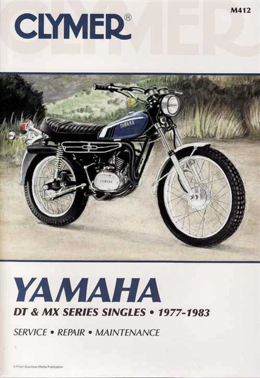 yamaha dt 125 service manual