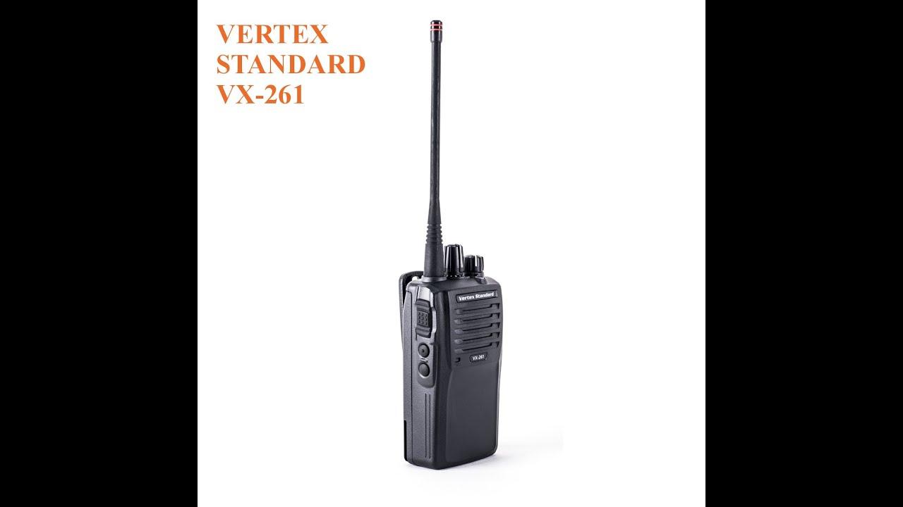 vertex standard vx 261 manual
