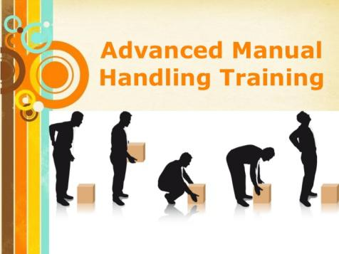 manual handling training course content