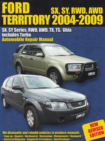 ford territory workshop manual online