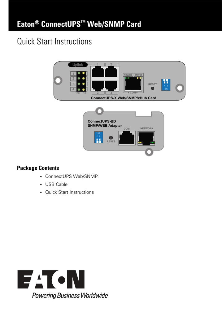 eaton power xpert gateway manual