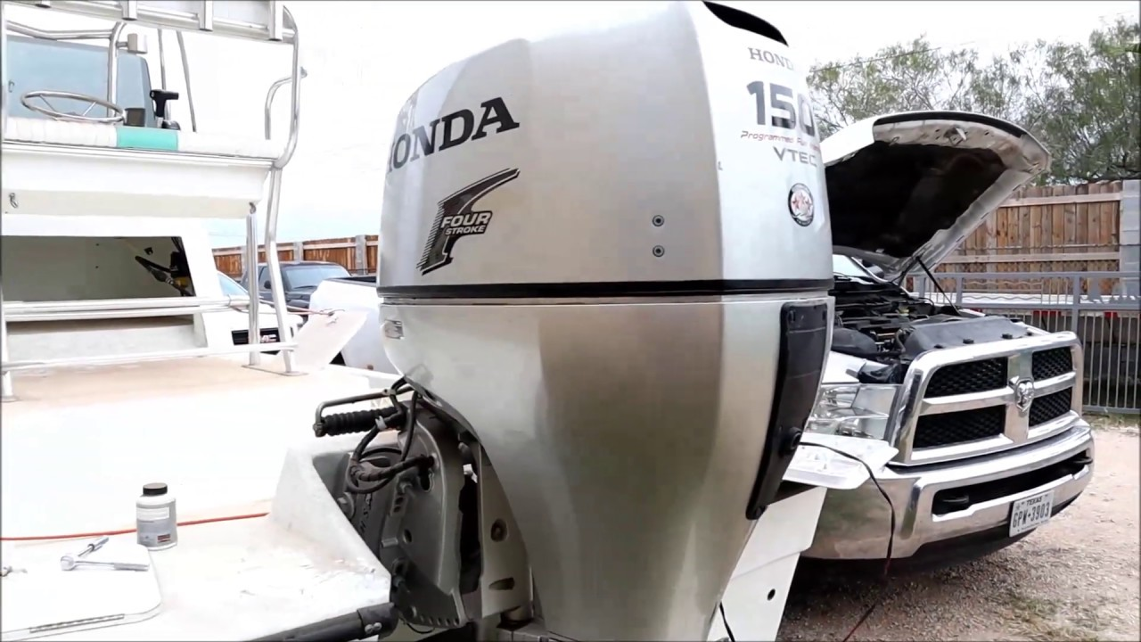 honda 130 hp outboard manual