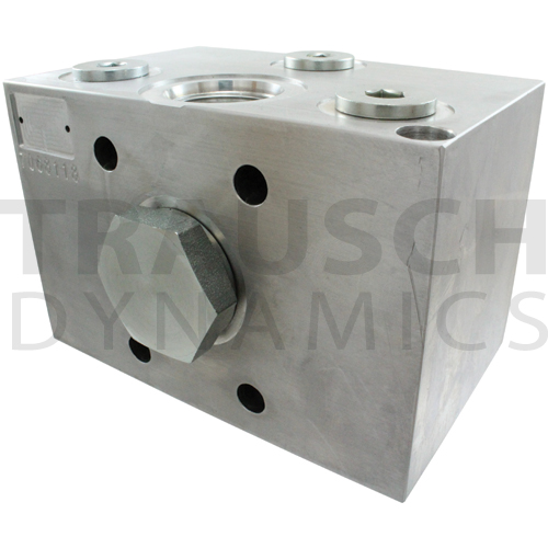 manual high negative pressure relief valve