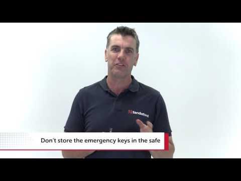sandleford electronic safe es20 manual