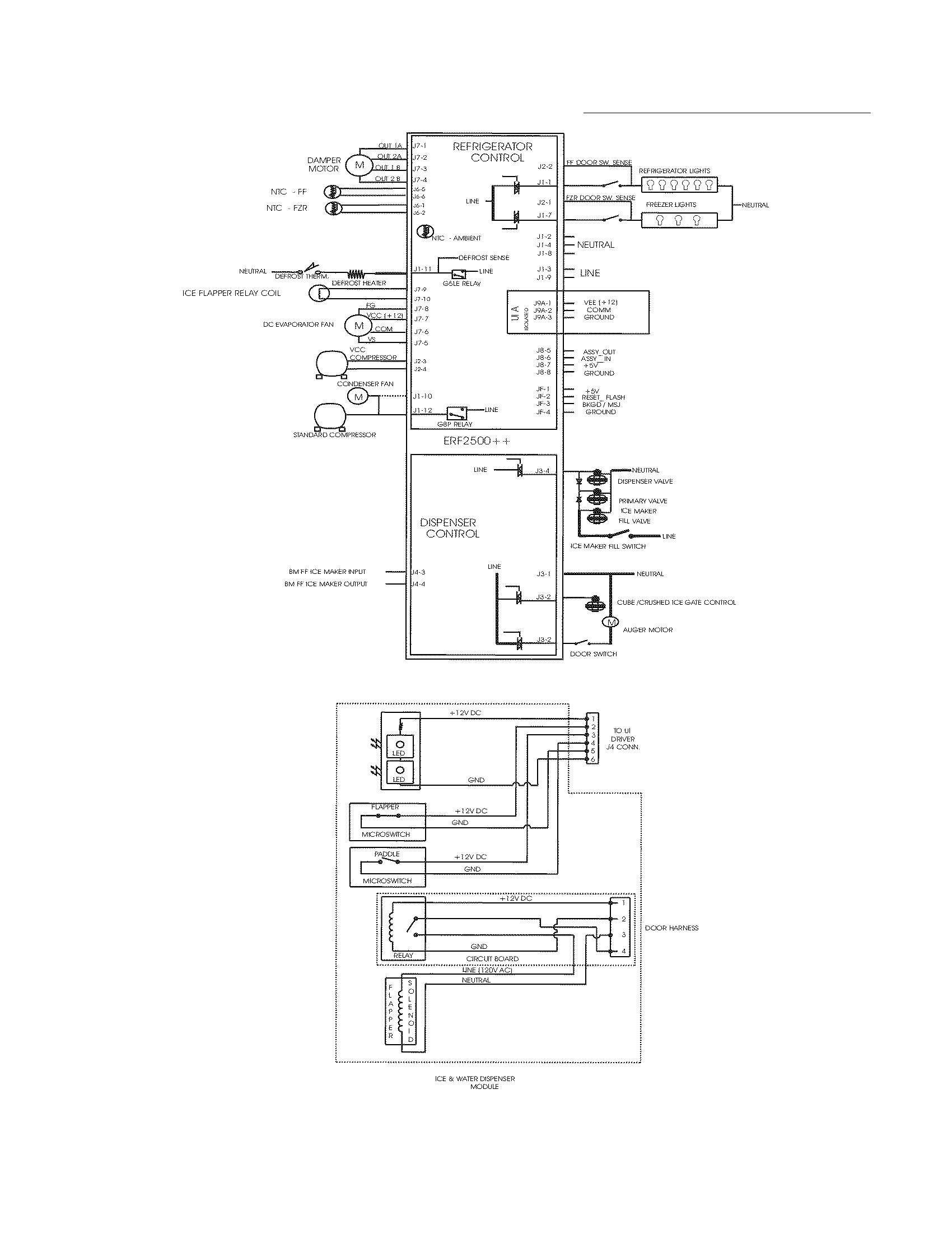 electrolux side by side refrigerator manual