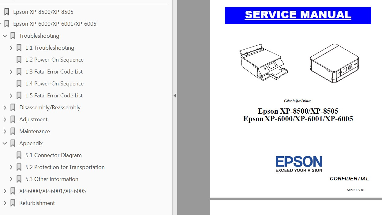 epson printer artisan 837 manual
