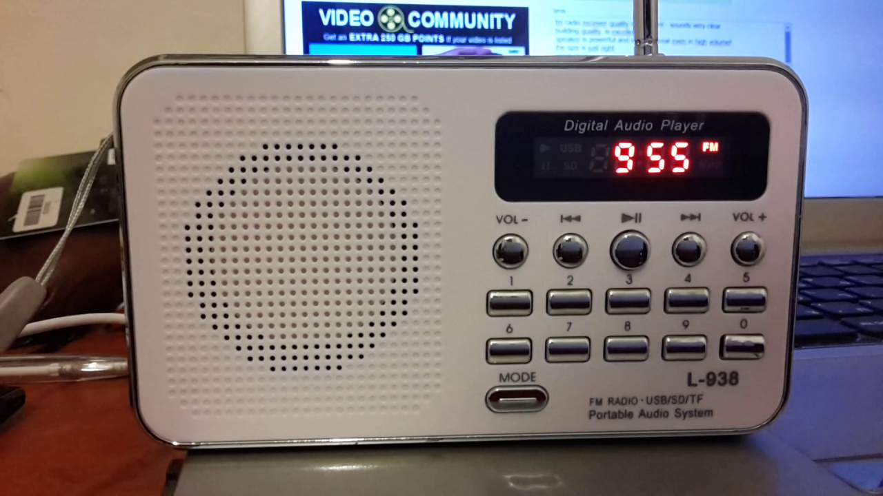digitech radio and mp3 player manual