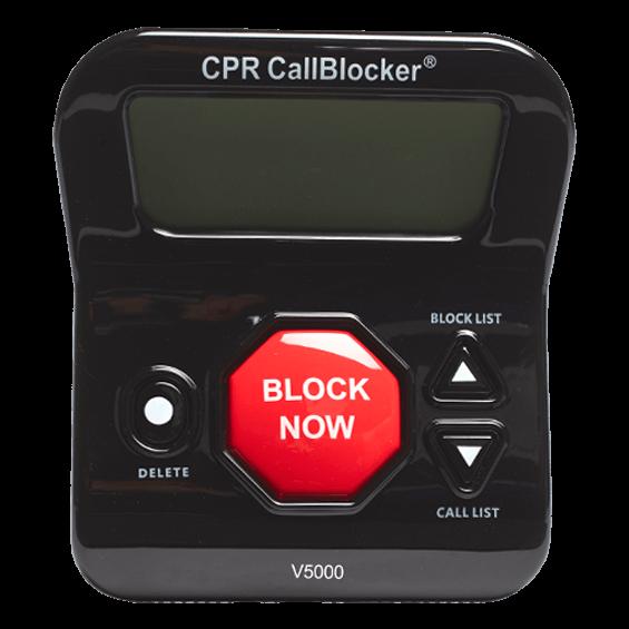 cpr call blocker v5000 manual