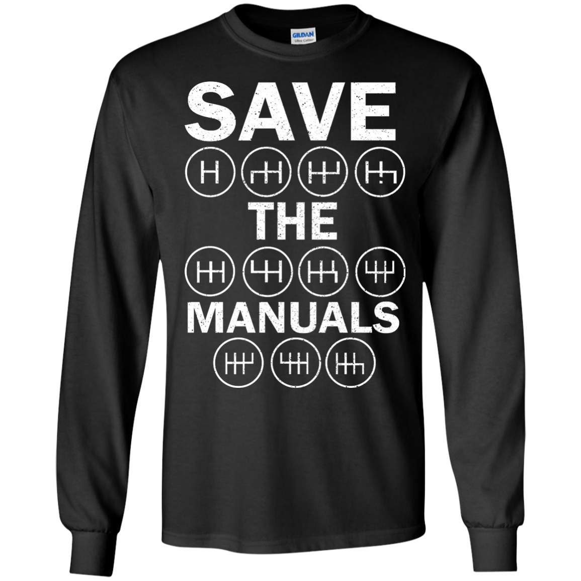 save the manuals t shirt