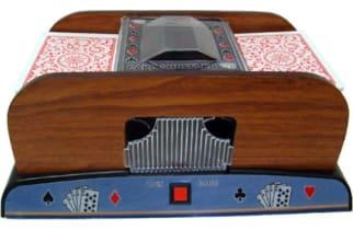 las vegas manual card shuffler