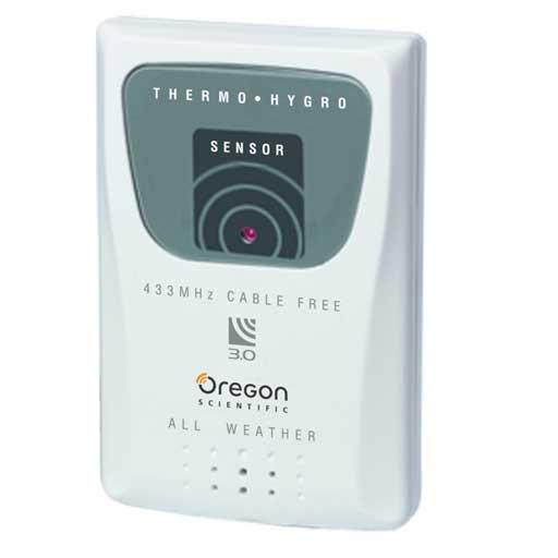oregon scientific thermo sensor 433mhz cable free manual