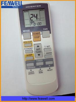 fujitsu inverter air conditioner remote control manual