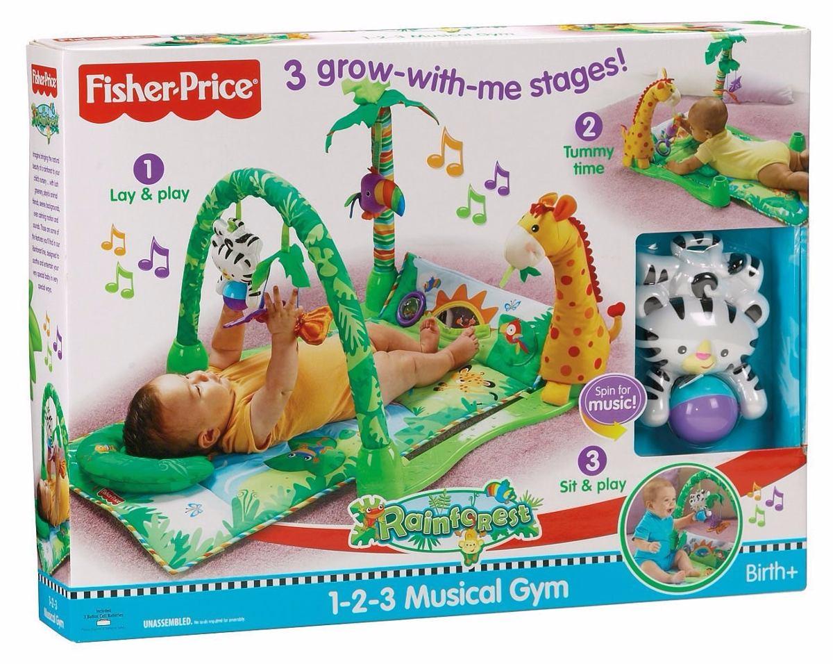 fisher price rainforest gym manual