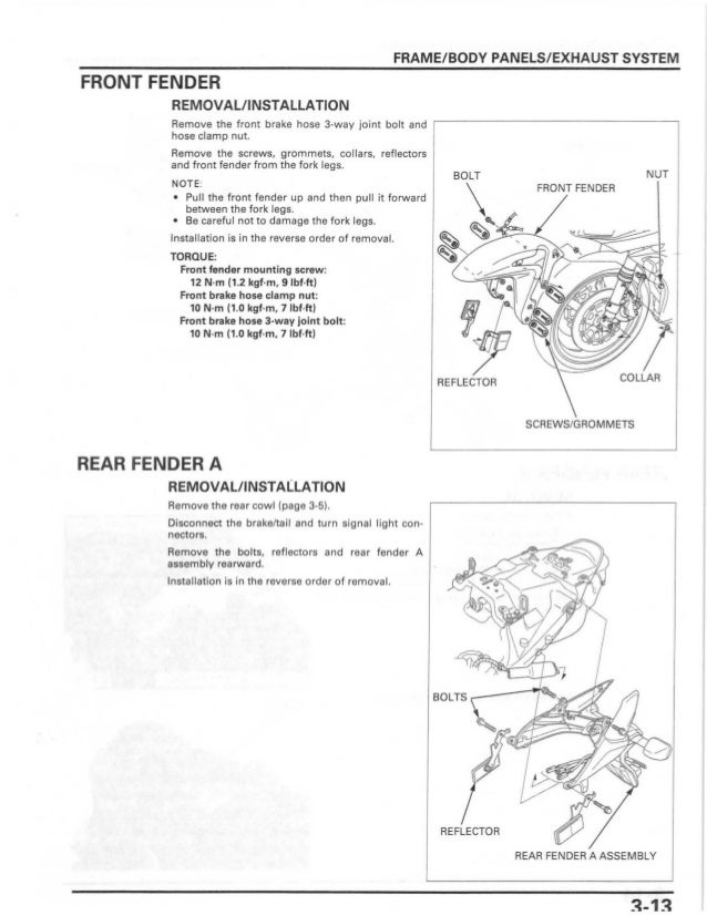 2007 honda cbr 125 owners manual