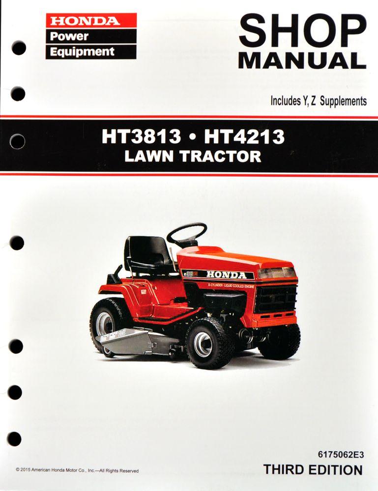 honda ht3813 parts manual pdf