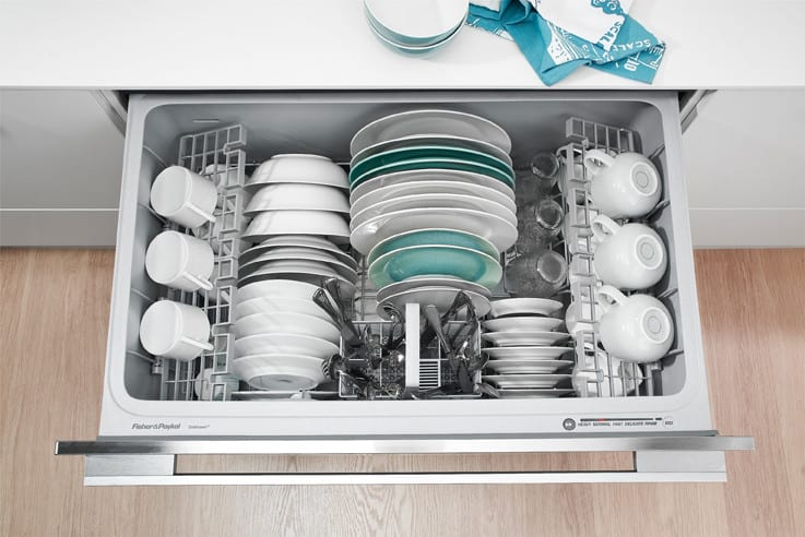 fisher and paykel double dishwasher manual